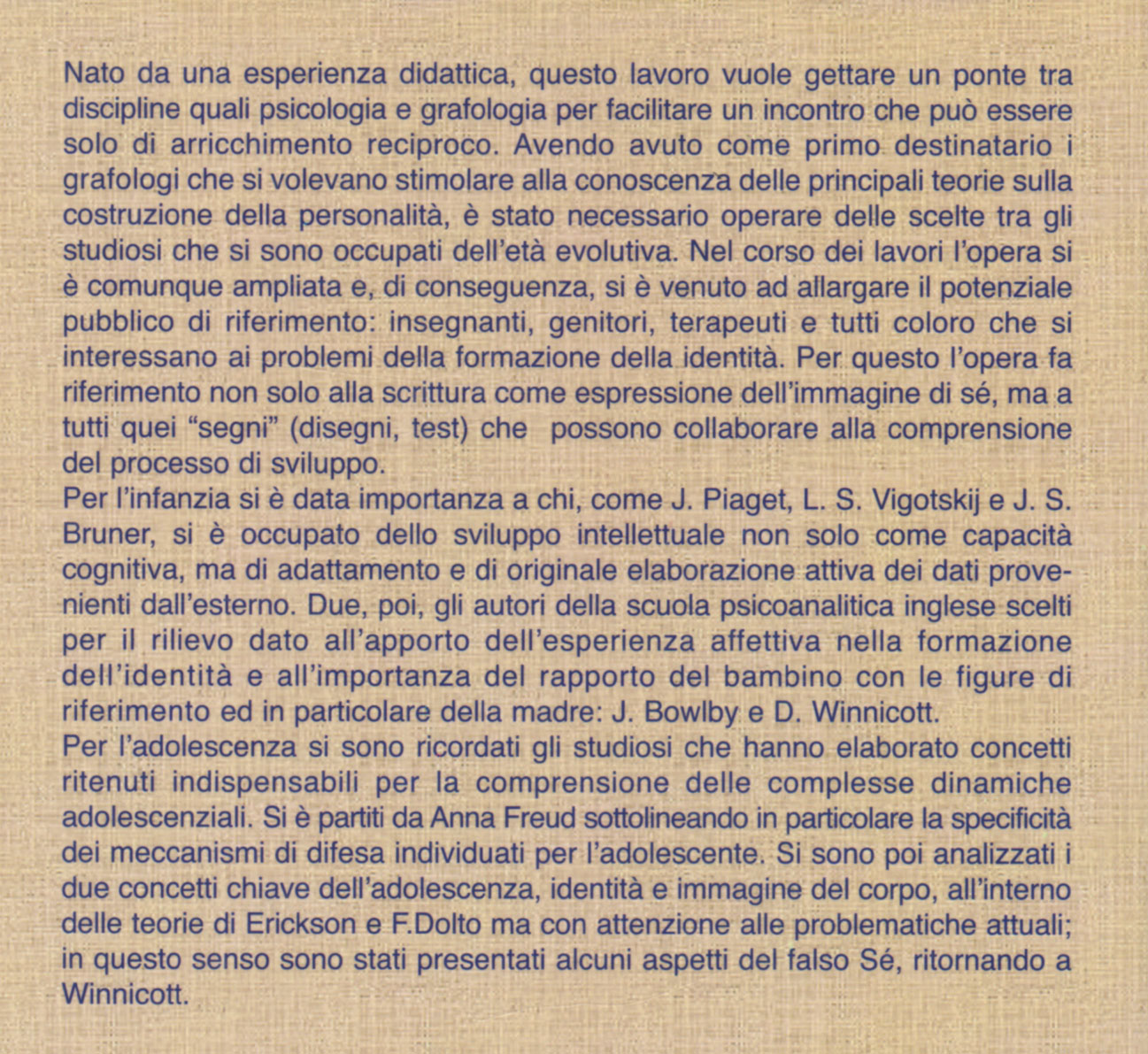 IDENTITA'-SCRITTURA…quarta