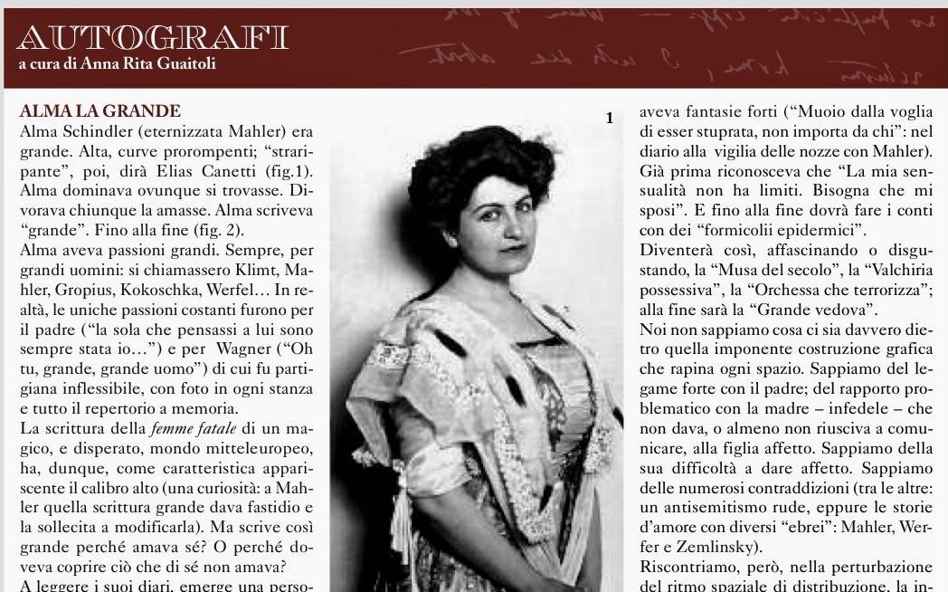 n) ESPERTO Alma Mahler