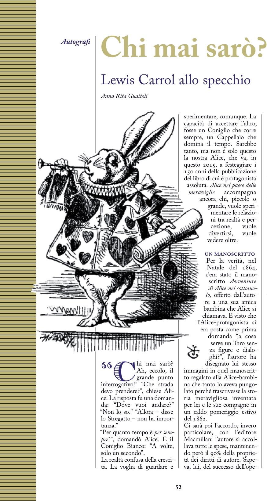 Carrol, Charta n. 138